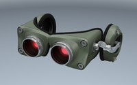 night vision goggles c4d