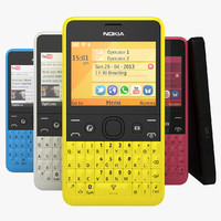 Nokia Asha 210 In All available Colors