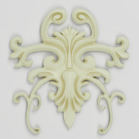 cartouche decorate facades 3d max