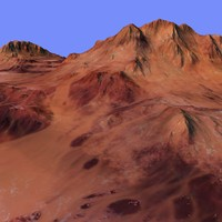 3d model of terrain alm-04
