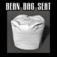3ds max bean bag seat