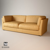 3ds max meridiani quinn sofa