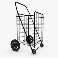 rolling utility cart 3d model