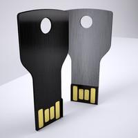 3d usb memory stick model