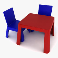 maya toy table chair