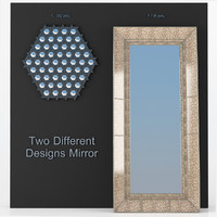 3d mirror rectangular hexagonal model