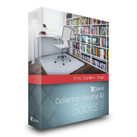 CGAxis Models Volume 43 Books VRay