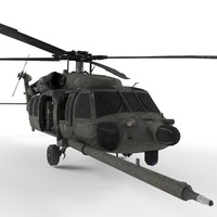 3d model of blackhawk