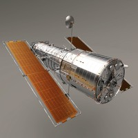 Hubble Space Telescope (High Poly)