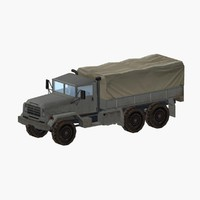 3d army truck m923