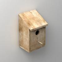 3dsmax house bird