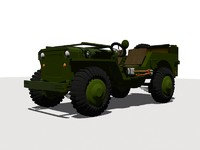 3ds max jeep willys