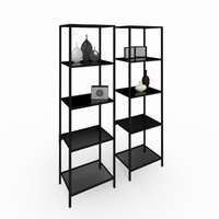 max bookshelves v-ray