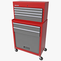 3d stack-on tool chest