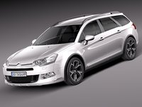 3ds max 2014 citroen tourer