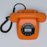 Retro Telephone FeTAp 611