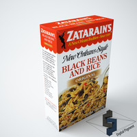 3d zatarains black beans rice
