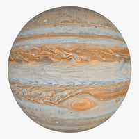 3d jupiter planet