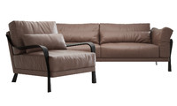 3d ligne roset cityloft sofa chair model