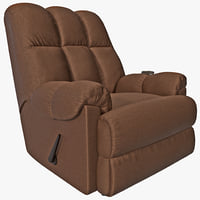 Padded Massage Rocker Recliner