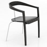 3d model of ro chair zilio