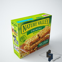 3ds max nature valley granola