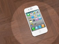 3d iphone 4s white
