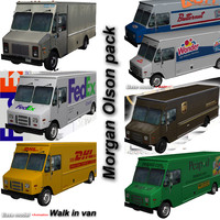 morgan olson van pack 3d 3ds