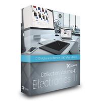 CGAxis Models Volume 41 Electronics III C4D