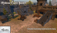 medieval castle builder games 3d model
