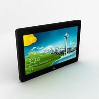 asus vivo tab smart 3d model