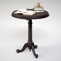 18th C. French Brasserie Table/book/decor