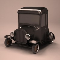 3d model t 1927 cartoon