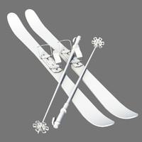 3d ski board model