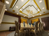 3d interior decoration model