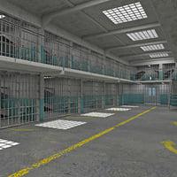 max prison interior scene
