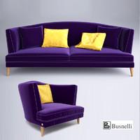 sofa busnelli tresor max