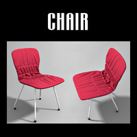 3d model upholstered chair