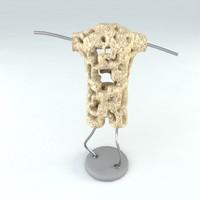 statue man 3d model