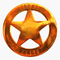 Texas Ranger Badge 1