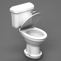 toilet seat 3d model