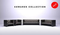 furniture edwards sofa 3d max