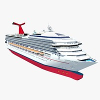 3ds max cruises ships carnival