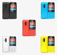 3d nokia 220 colors