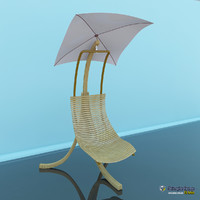 chair beach 2011 3d max