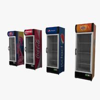 3d model beverage cooler brands