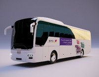 3ds max printed bus