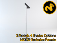 3d model lamp jacobsen