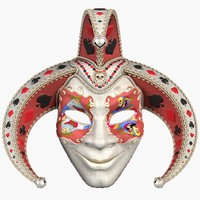 3ds max mask joker