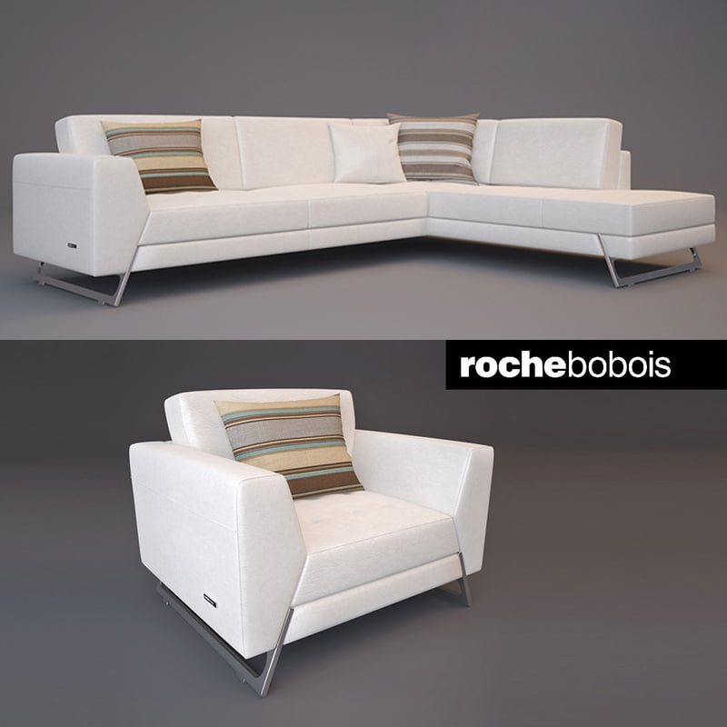 roche bobois satelis canape 3d max. Black Bedroom Furniture Sets. Home Design Ideas